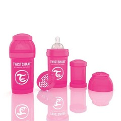 Twistshake Fles anti-koliek 180 ml pink