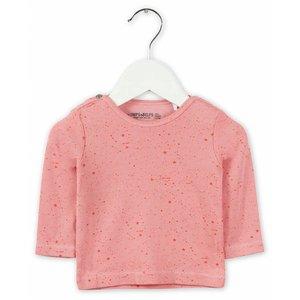 IMPS&ELFS t-shirt long sleeve doll pink  dark doll pink