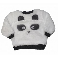 KNOT SO BAD Novan sweater panda