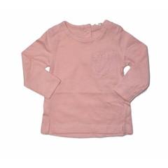 KNOT SO BAD longsleeve vintage pink
