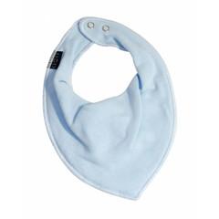 Mikk-Line slabbertje driehoek baby blue