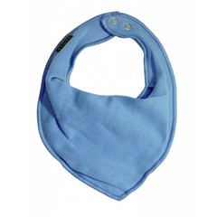 Mikk-Line slabbertje driehoek aqua blue