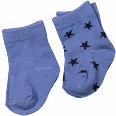 DIRKJE BABYKLEDING baby sokjes basics blue melee