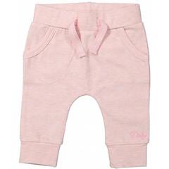 DIRKJE BABYKLEDING baby broekje pockets basics pink melee