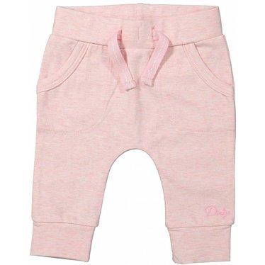 DIRKJE BABYKLEDING Dirkje baby broekje pockets basics pink melee