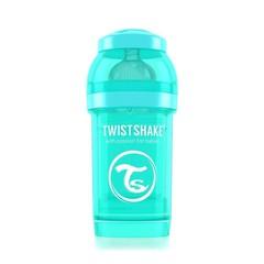Twistshake Fles anti-koliek 180 ml turquoise