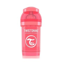 Twistshake Fles anti-koliek 180 ml peach