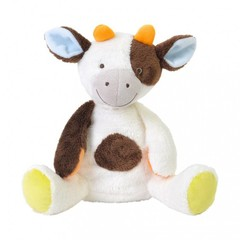 HAPPY HORSE cow clover white/brown