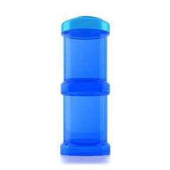 Twistshake container 2x 100ML blue