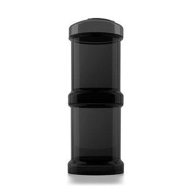 Twistshake Twistshake Fles container 2x 100ML black
