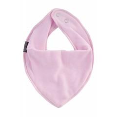 Mikk-Line slabbetje driehoek baby roze
