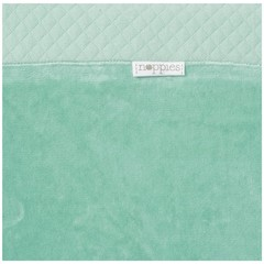 NOPPIES nos changing mat cover nizza 60x50x10 cm grey mint