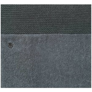 NOPPIES nos changing mat cover knit noli 60x50x10 cm dark grey melange