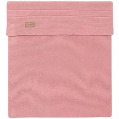 NOPPIES nos cradle deken knit norcia 75x100 cm old pink