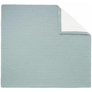 NOPPIES nos baby bed deken sweat noto 120x120 cm dark green