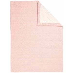 NOPPIES nos cradle deken sweat noceto 75x100 cm old pink