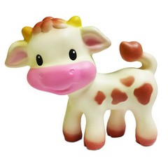 Infantino Squeeze and Teethe Cow