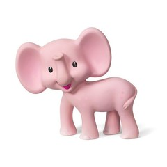 Infantino Squeeze and Teethe Pink Elephant