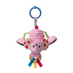 Infantino jittery pink elephant