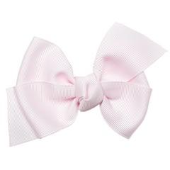 PRINSESSEFIN speld met grote strik icy pink