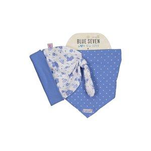 BLUE SEVEN baby mut met sjaal wit cutie pie