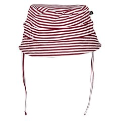 NOESER Bucket muts stripe red totem red