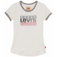 LEVI'S meisjes t-shirt cloud dancer