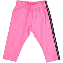 BORN TO BE FAMOUS meisjes legging neon pink