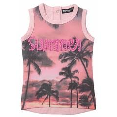 DIRKJE BABYKLEDING hemd summer pink melee