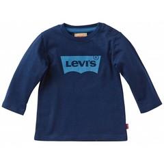 LEVI'S baby jongens longsleeve t-shirt navy