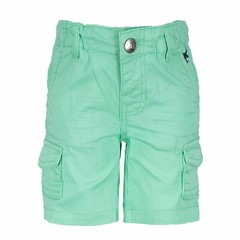 LCEE kidswear baby boys korte broek bermuda groen