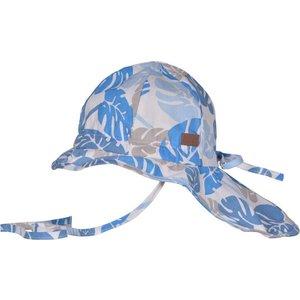 MELTON zonnehoed neck & bow girl/boy corydalis blue