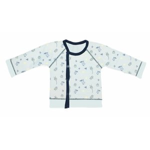 SNOOZEBABY vest spring fading blue reversible