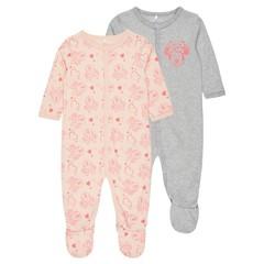 NAME IT meisjes 2-pack pyjama peachy keen minnie