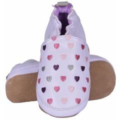 MELTON schoenen blue ice purple hearts
