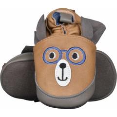 MELTON schoenen cafe au lait teddy w. ears