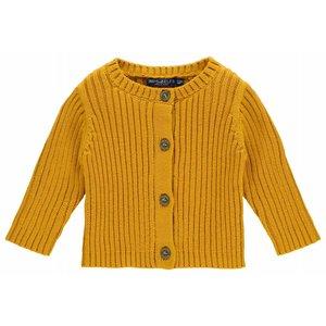 IMPS&ELFS cardigan long sleeve warm yellow