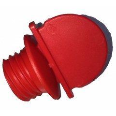 OKbaby rode afvoerdop + sleutel douchezit