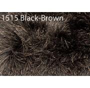 Brinker Carpets Rug Glossy 1515 black brown 200x300cm