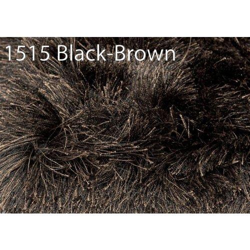 Brinker Carpets Rug 1515 Glossy black brown 200x300cm