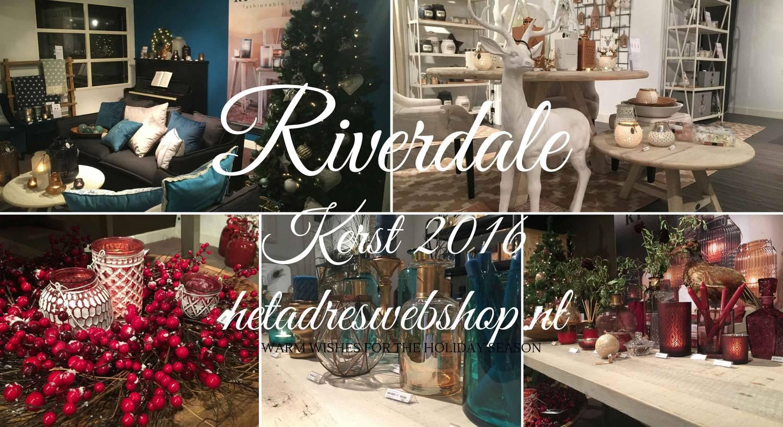 riverdale kerstcollectie the christmas society 2016 hetadreswebshopnl