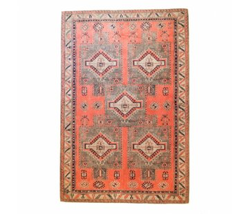 Brinker Carpets Teppich Ikat 5 Square Olivia Rust 160x240cm