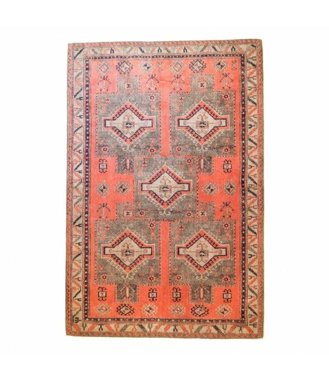 Brinker Carpets Ikat rug 5 Square Olivia Rust 160x240cm
