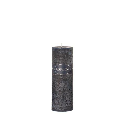 Riverdale Kaars Pillar Midnight blue 7,5x23cm
