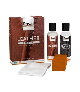 Oranje ® Leather Wax & Öl Set