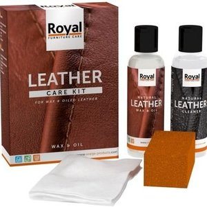 Oranje Furniture Care ® Leather Wax & Öl Set