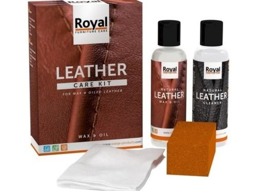 Oranje Furniture Care ® Leer Wax & Olie set