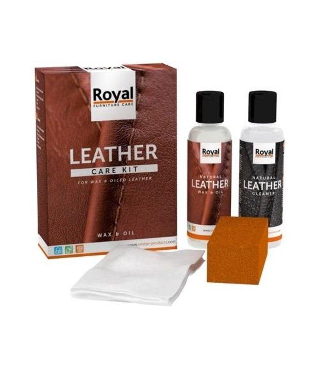 Oranje Furniture Care ® Leather Wax & Oil Set 2x150ml