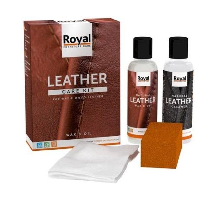 Leather Wax & Oil set 2x150ml