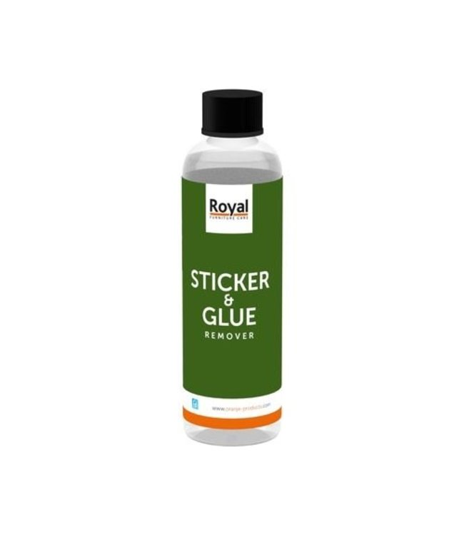 Oranje Furniture Care ® Sticker and adhesive remover